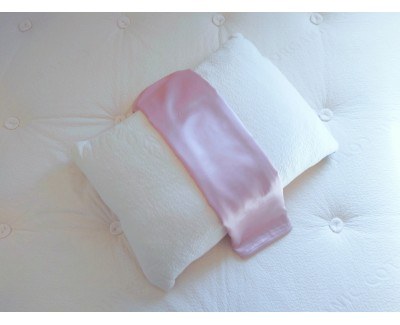 Dusty Rose Silk Pillowcase